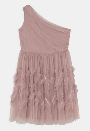Cocktailjurk - frosted pink
