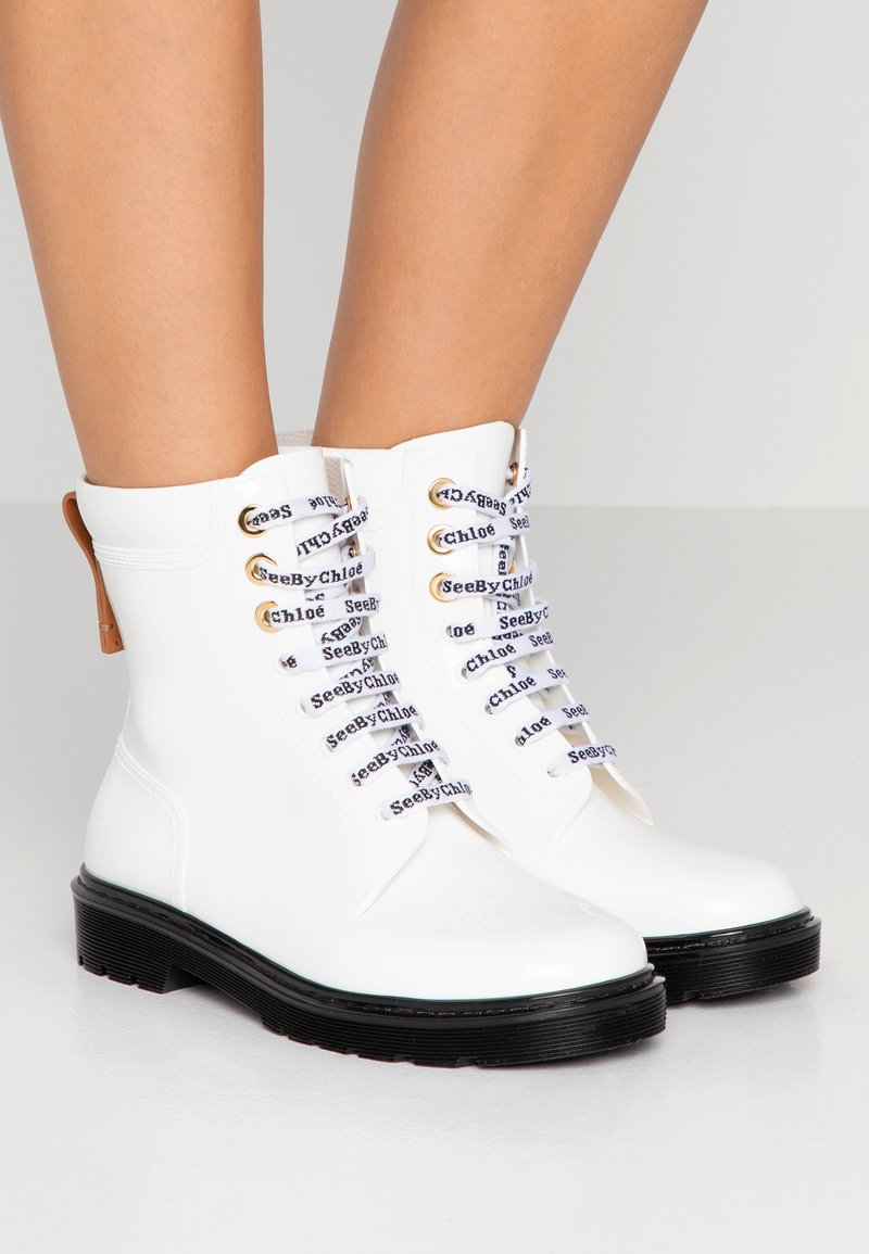 See by Chloé - Wellies - bianco