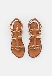 Tamaris - Sandals - nut/gold - 5