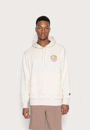 DOWNTOWN GRAPHIC HOODIE - Sweatshirt - ivory glow