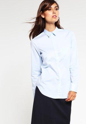 CLASSIC - Button-down blouse - light blue