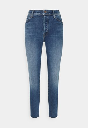 THE STUNNER ANKLE FRAY - Jeans Skinny Fit - blue denim