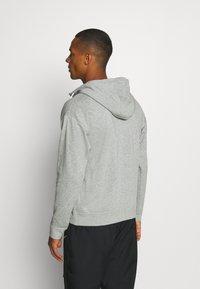 Nike Sportswear - HOODIE - Zip-up hoodie - dark grey heather - 2