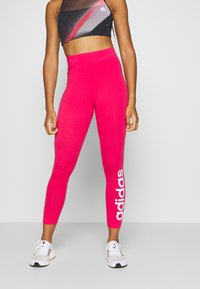 adidas Performance - LIN - Punčochy - power pink/white - 0