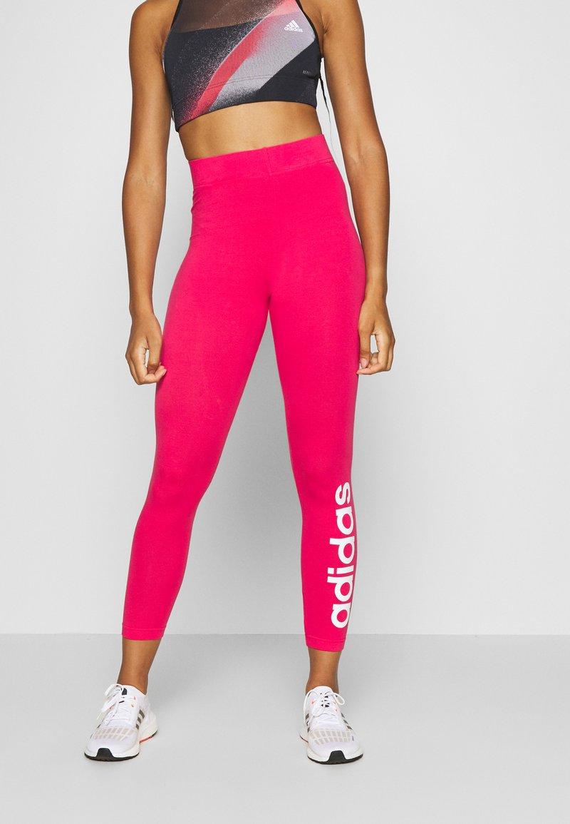 adidas Performance - LIN - Punčochy - power pink/white
