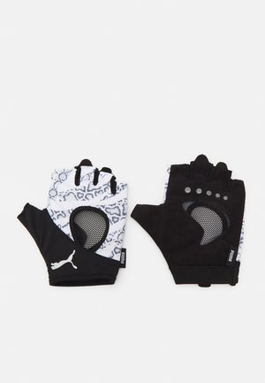 GYM GLOVES - Mitones - white