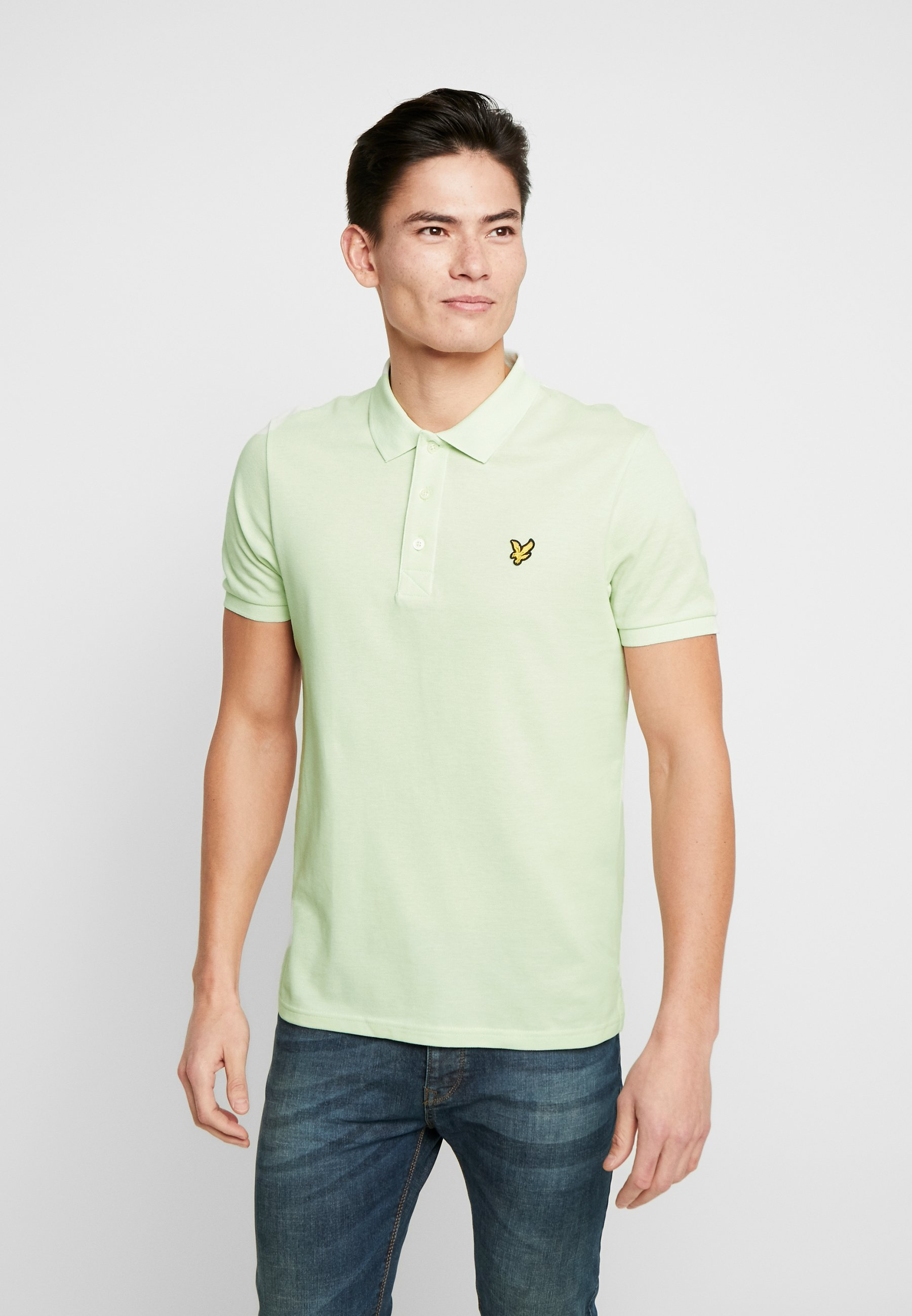 Lyle & Scott PLAIN - Poloskjorter - cloud mint