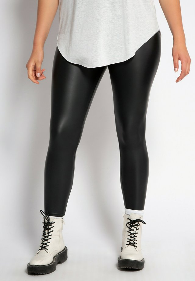 Leggings - Trousers - zwart