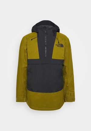 SILVANI ANORAK - Ski jacket - green/black