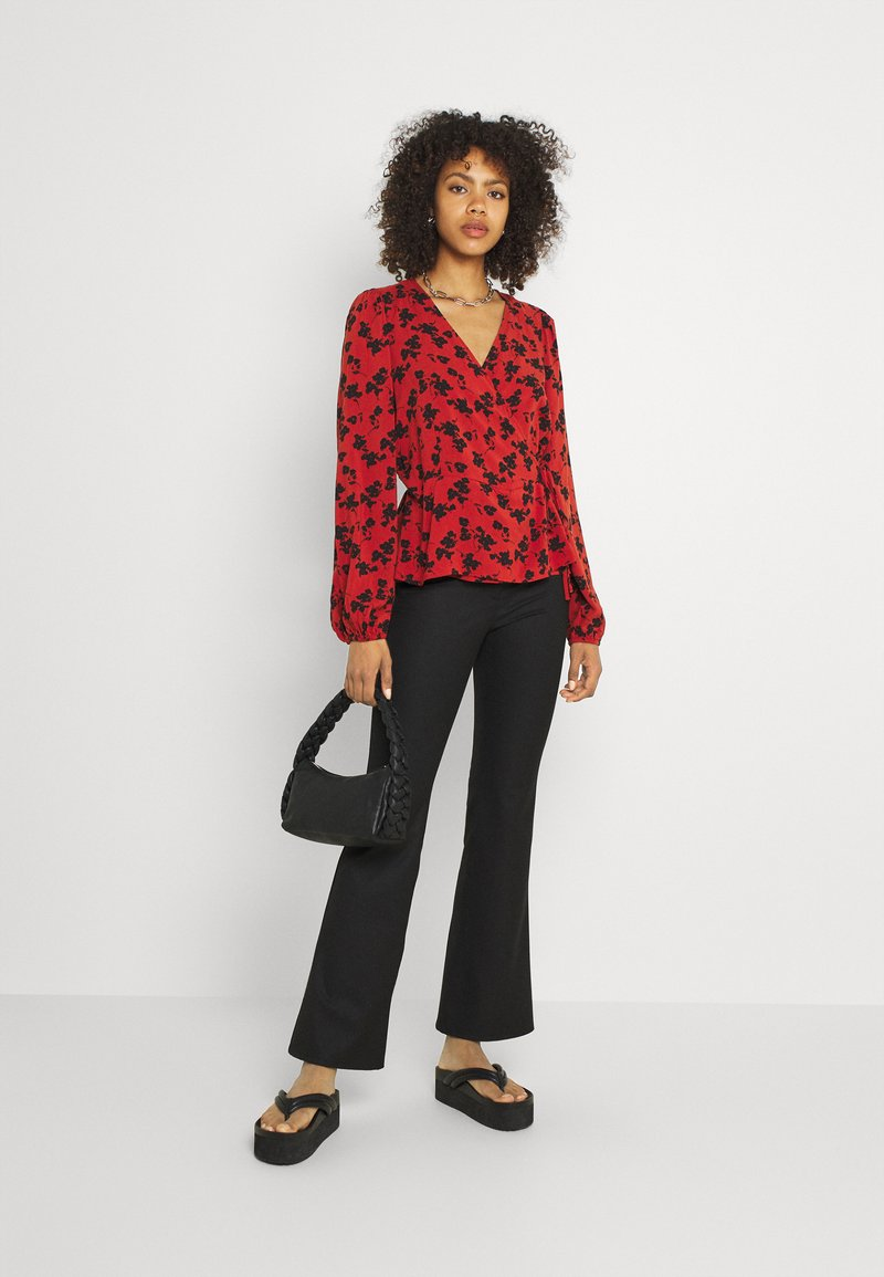 b.young - BYJOSA NECK - Blouse - arabian spice