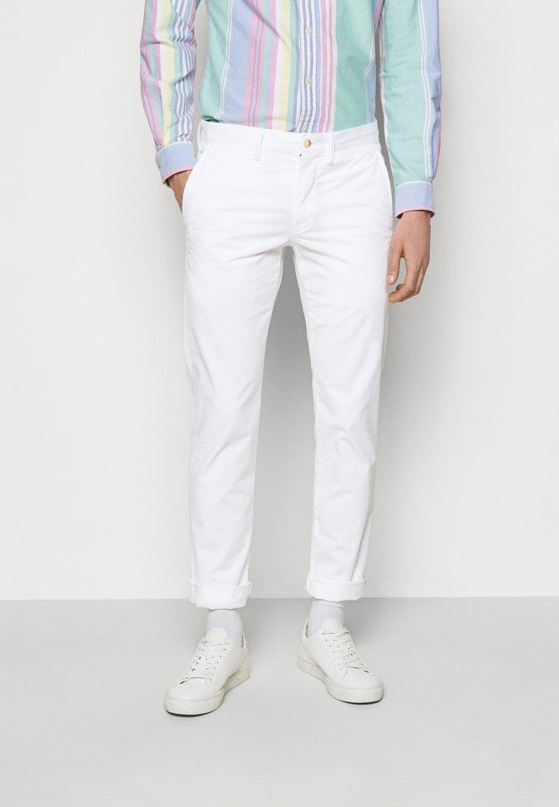 Polo Ralph Lauren - STRETCH SLIM FIT CHINO PANT - Chino - pure white