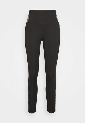 EVOSTRIPE HIGH WAIST 7/8 - Leggings - black