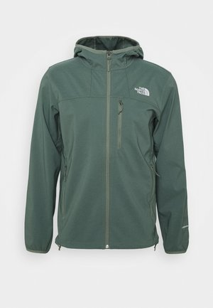 NIMBLE HOODIE - Soft shell jacket - agave green