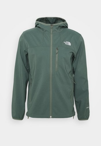 NIMBLE HOODIE - Soft shell jacket - agave green