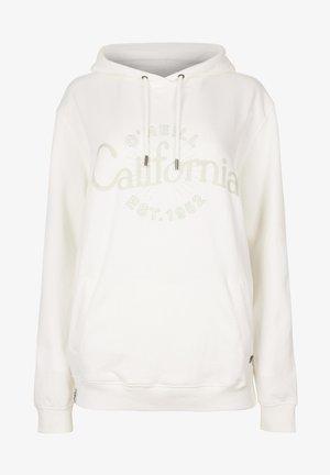 GRAPHIC - Jersey con capucha - powder white