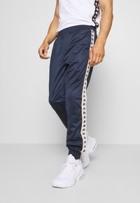 Kappa - HELGE PANT - Tracksuit bottoms - total eclipse - 0