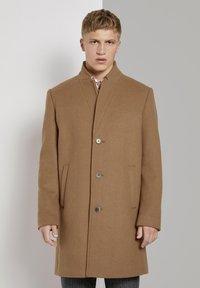 TOM TAILOR DENIM - Classic coat - hay beige - 0