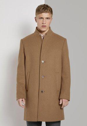 Manteau classique - hay beige