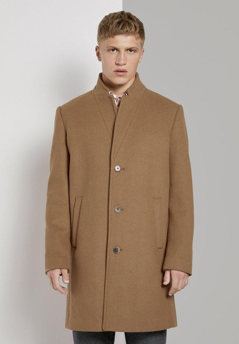 TOM TAILOR DENIM - Classic coat - hay beige