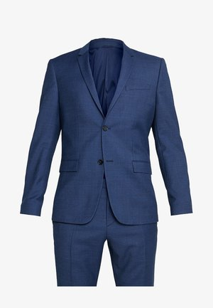 BIRDSEYE STRETCH FITTED SUIT - Suit - blue