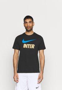 Nike Performance - INTER MAILAND CLUB TEE - Club wear - black - 0