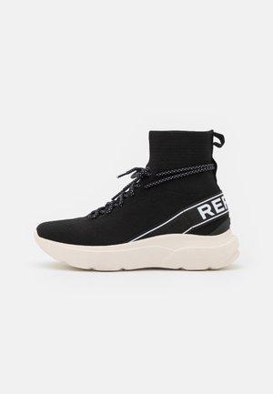 DRAGONFLY - Sneakers hoog - black/white