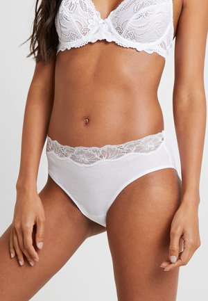 DELIGHT MIDI SLIP - Briefs - white