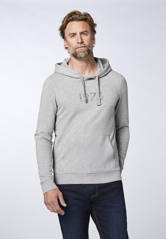 Hoodie - neutr. gray