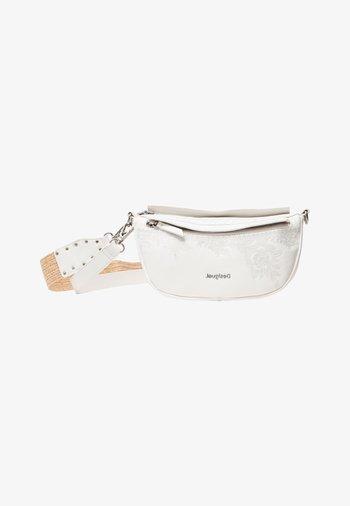 LUISIANA  - Across body bag - white