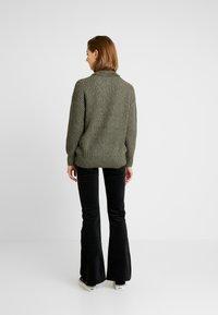 Even&Odd - Sweter - khaki - 2