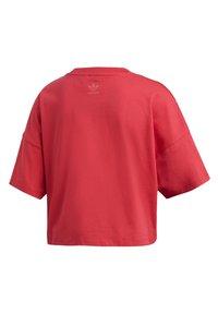 adidas Originals - ADICOLOR LARGE LOGO T-SHIRT - T-shirts print - pink - 9