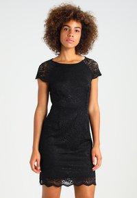 ONLY - ONLSHIRA LACE DRESS  - Cocktailkjoler / festkjoler - black - 0