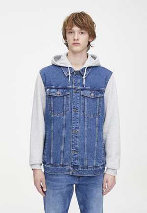 KOMBINIERTE JEANSJACKE 09716501 - Kurtka jeansowa - blue
