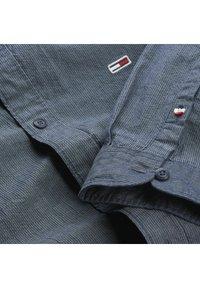 Tommy Jeans - SEERSUCKER MAO  - Shirt - blue - 2