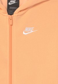 Nike Sportswear - HOODIE CLUB  - Sweater met rits - orange chalk/white - 2