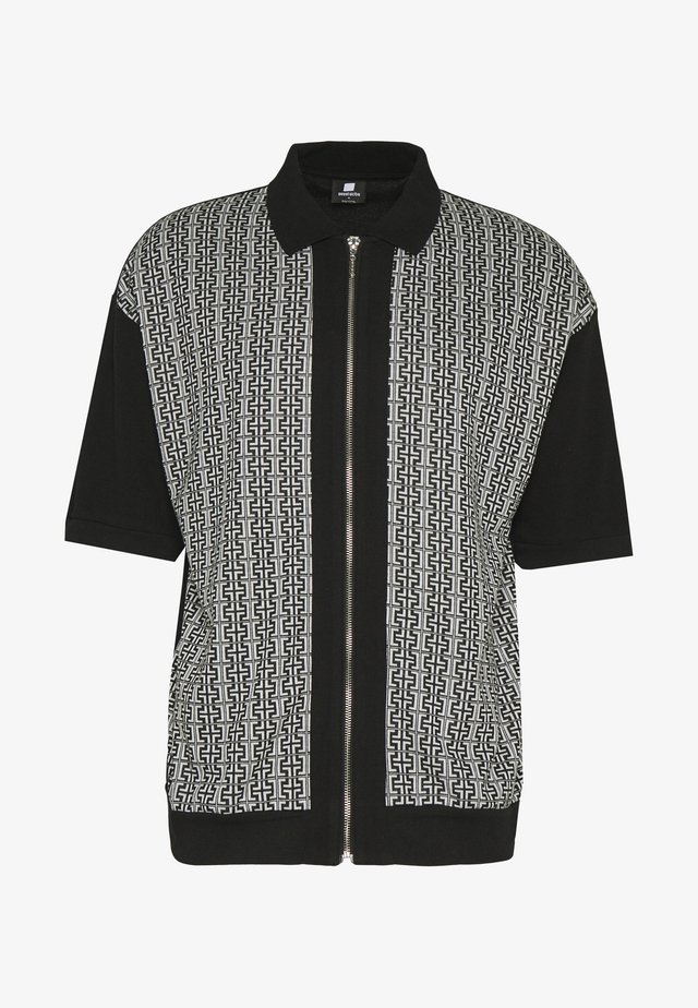 SWEET LOOSE - Polo shirt - black/white