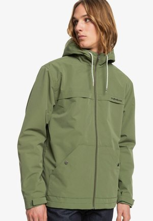 WAITING PERIOD - Outdoor jacket - four leaf clover