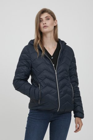 Down jacket - dark peacoat