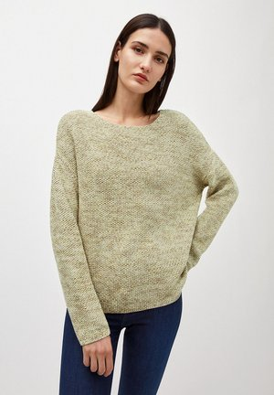 PIPPAA MOULINE - Jumper - green