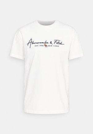 LOGOCON SCRIPT - T-shirt print - white
