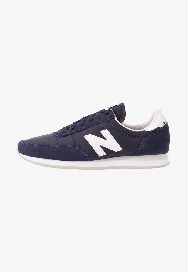 720 UNISEX - Baskets basses - navy/white