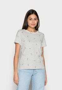edc by Esprit - T-shirt con stampa - khaki green - 0