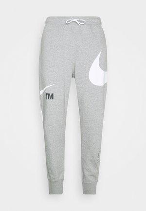 PANT - Teplákové kalhoty - grey heather/whtie