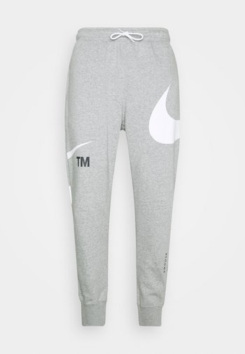 PANT - Tracksuit bottoms - grey heather/whtie
