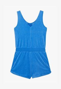Nike Sportswear - HERITAGE ROMPER - Jumpsuit - pacific blue/track red/white - 1