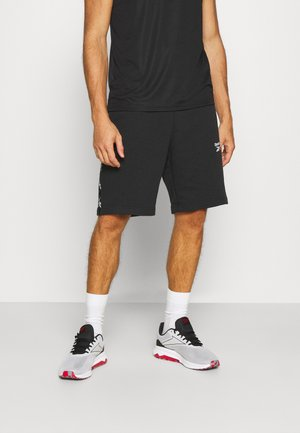 TAPE SHORT - Sports shorts - black