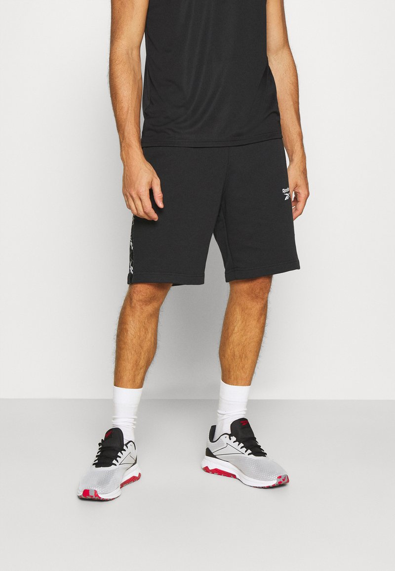Reebok - TAPE SHORT - Sports shorts - black
