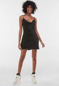 Bershka - Cocktail dress / Party dress - black - 1