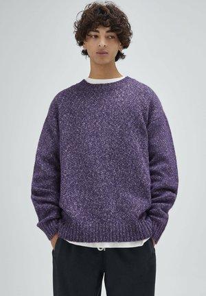 Maglione - mottled purple