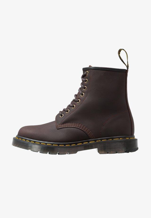 1460 UNISEX - Šněrovací kotníkové boty - cocoa snowplow